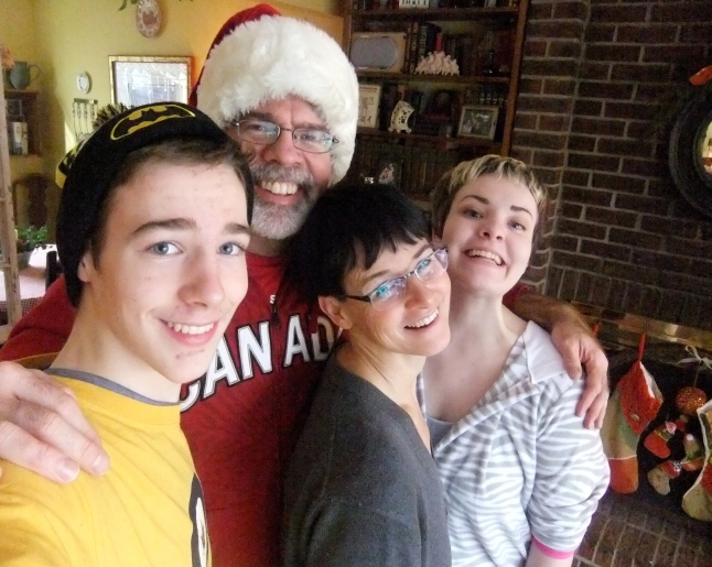 family shot xmas 2014