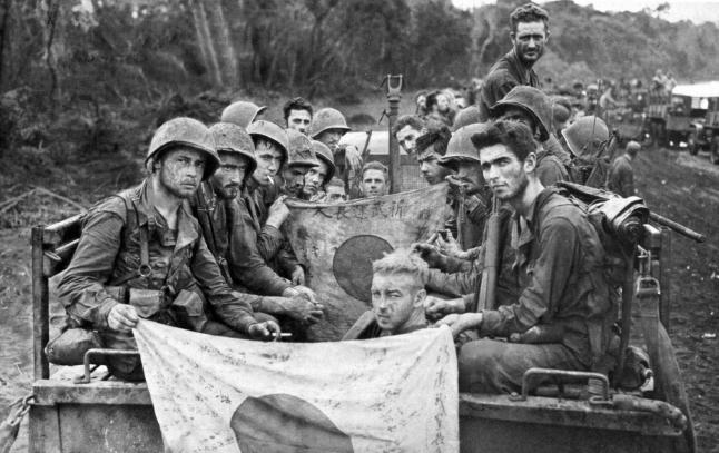 US Marines, Cape Gloucester, Pacific Theater WWII