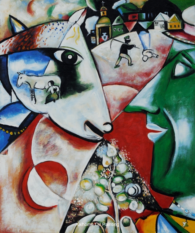 chagall-i-and-the-village