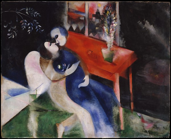 chagall-the-lovers