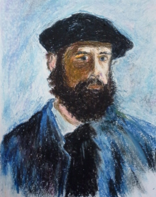 monet-self-portrait-with-beret