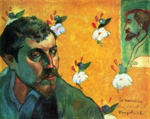 Paul Gaugin, Self Portrait with Bernard, 1888