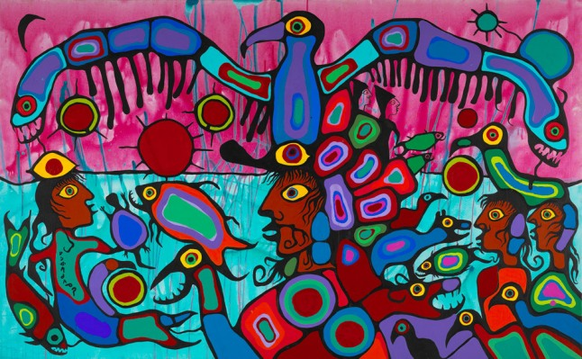 artist-and-shaman-between-two-worlds-morrisseau-1980