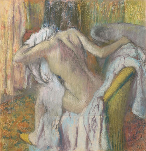 After-the-Bath-Woman-drying-herself-1895-Edgar-Degas