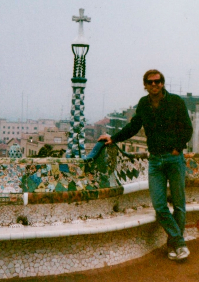 Ron at parc guell