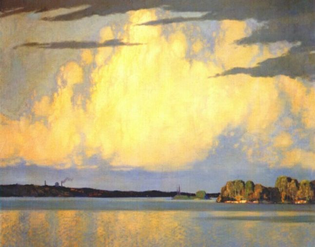 Frank-H-Johnston-Serenity-Lake-of-the-Woods-1922