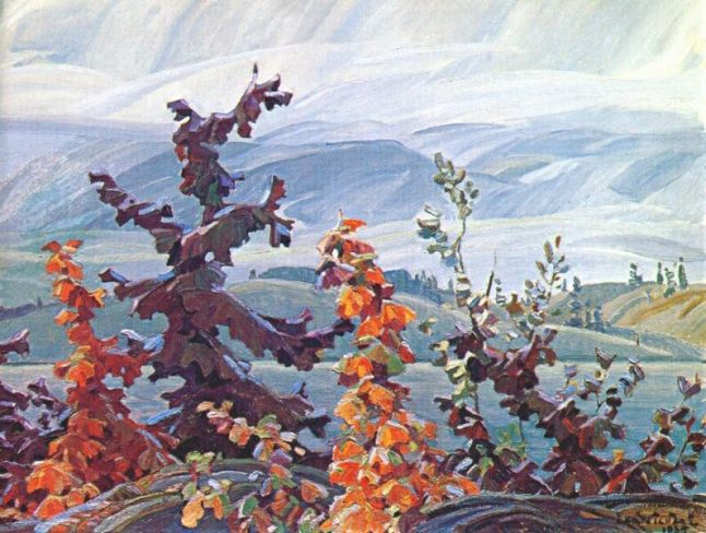 FranklinCarmichael-Scrub-Oaks-and-Maples-1935