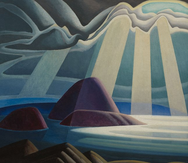 lake-superior lawren harris 1923