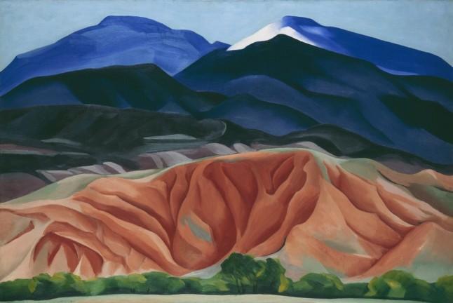 black mesa landscape o'keefe 1930