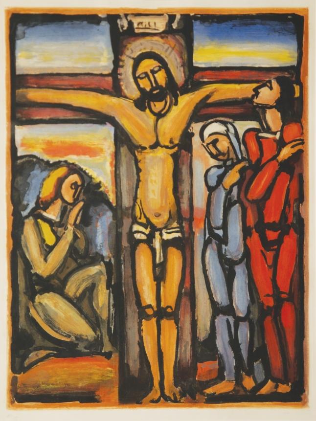 georges rouault crucifixion 1920