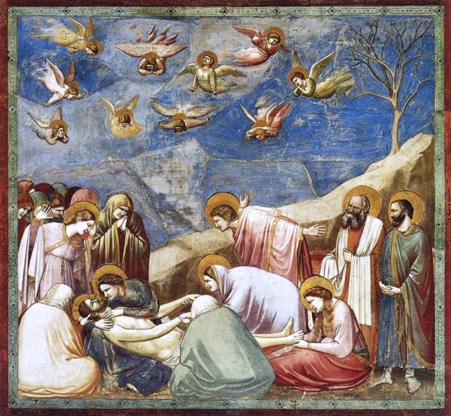 Giotto Lamentation of Christ c.1305