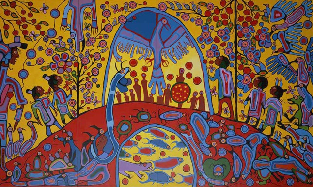 Norval-Morrisseau-HR-Androgeny - 1983
