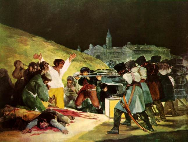 Shootings on Third of May 1808 Francisco de Goya