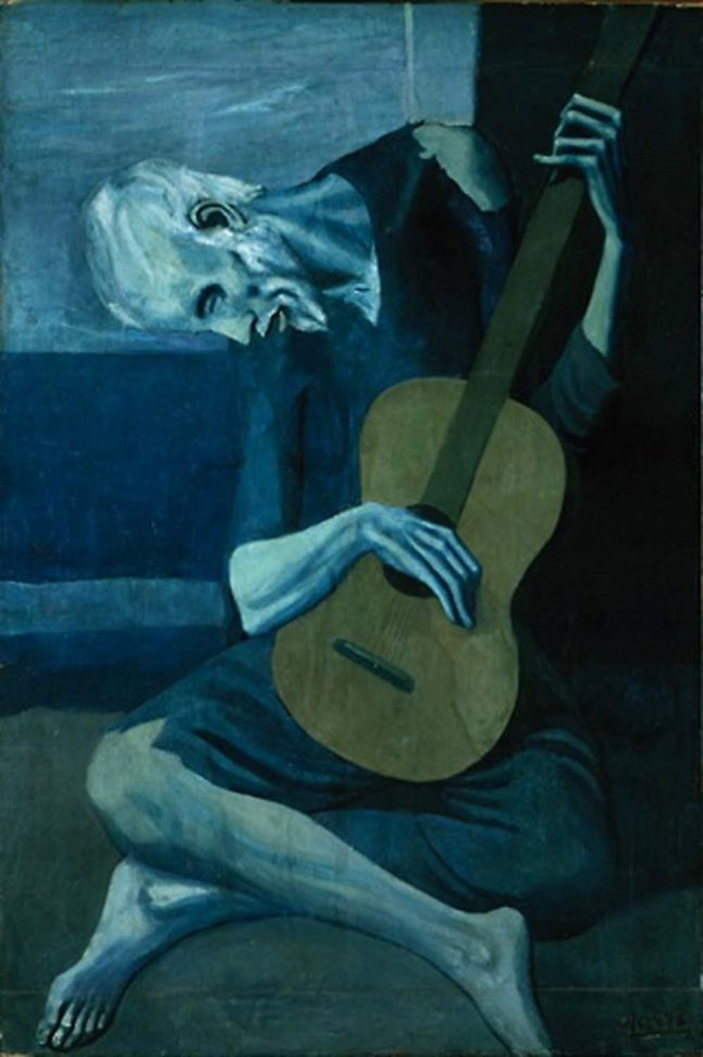 the-old-guitarist 1903