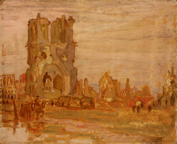 A._Y._Jackson_-_Cathedral_at_Ypres,_Belgium