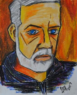 Self Portrait, Picasso-style