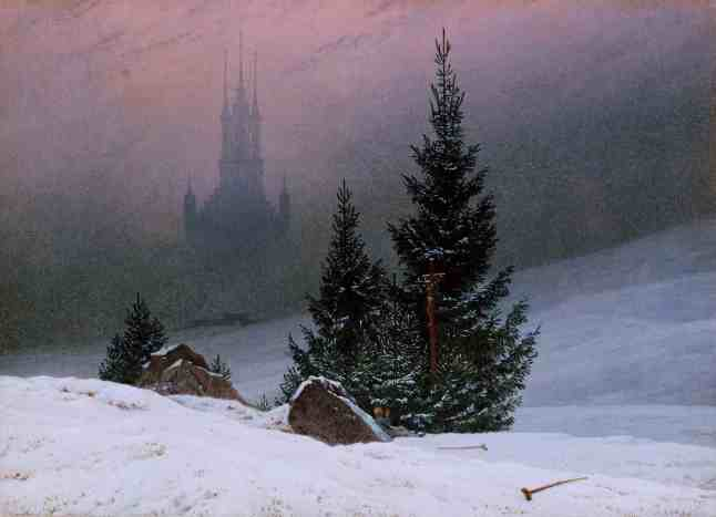 winter landscape caspar david friedrich 1811