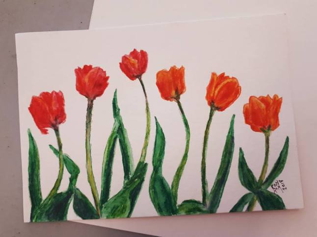 Six Tulips for Valentine's Day
